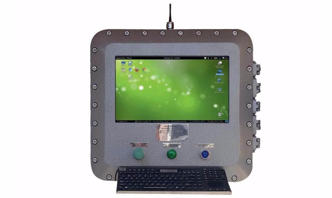 Взрывозащищенные компьютеры ВЭЛАН - КонтактЭнерго