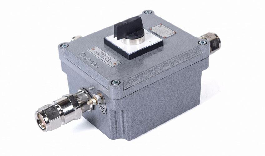 Переключатели пакетные взрывозащищенные из алюминия и пластика ВЭЛАН ExGN - КонтактЭнерго