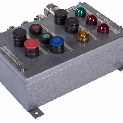 Посты взрывозащищенные кнопочные ВЭЛАН ПВК-Н(C)-ВЭЛ из нержавеющей стали и стали с антикоррозийным покрытием - КонтактЭнерго
