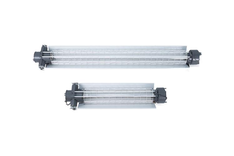 Взрывозащищенный светильник для линейных люминесцентных и светодиодных ламп ВЭЛАН 55 - КонтактЭнерго