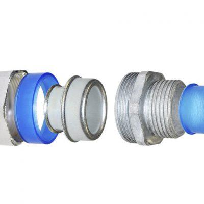 Муфта для металлорукава ВЭЛАН типа ММРн (с шестигранной гайкой) - КонтактЭнерго